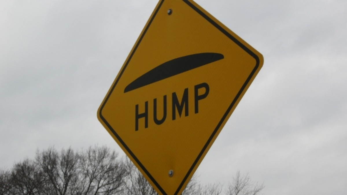 Life presents humps in the road that we have to discern and overcome.
