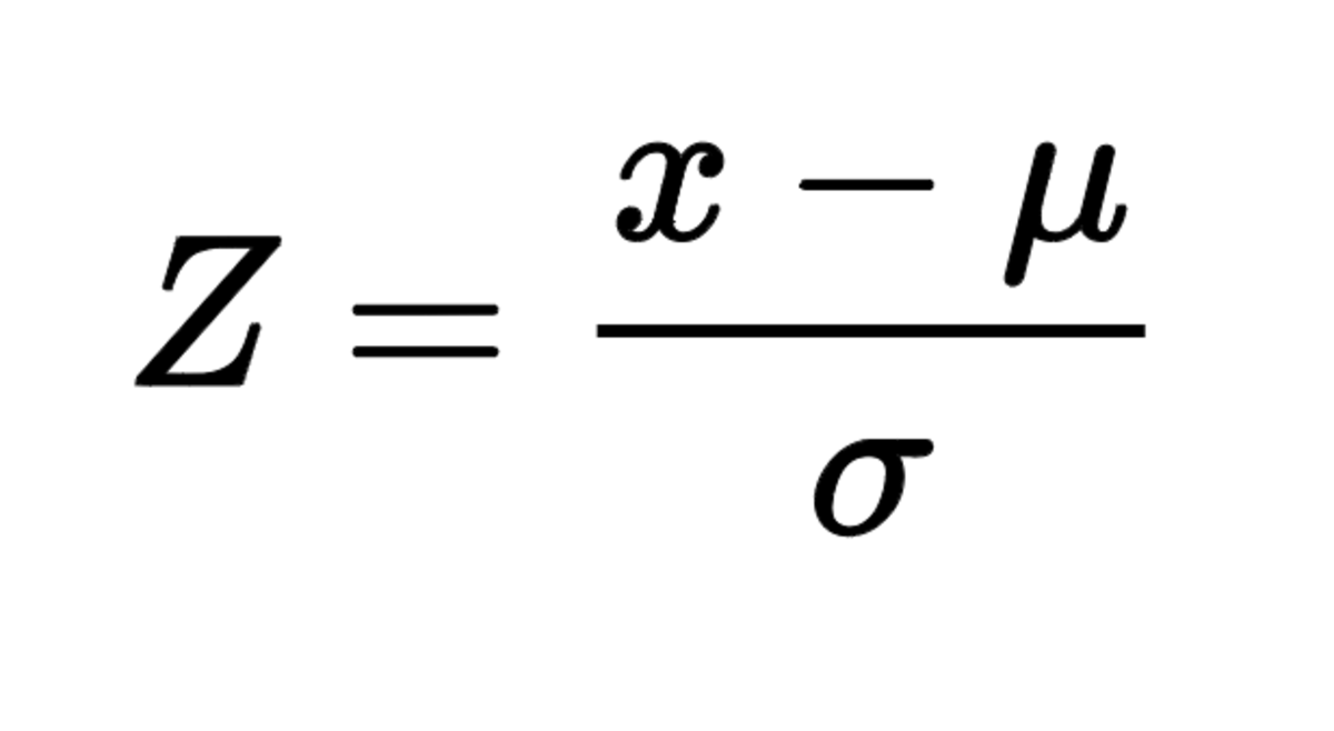 Z-scores are a popular standardized score used in the area of statistics. This method can be used when the mean and standard deviation of a population are known.