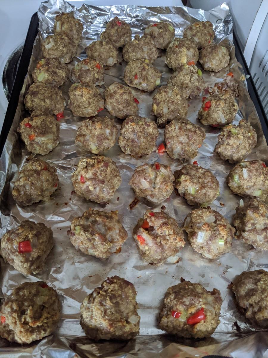 Ground Pork Meatballs