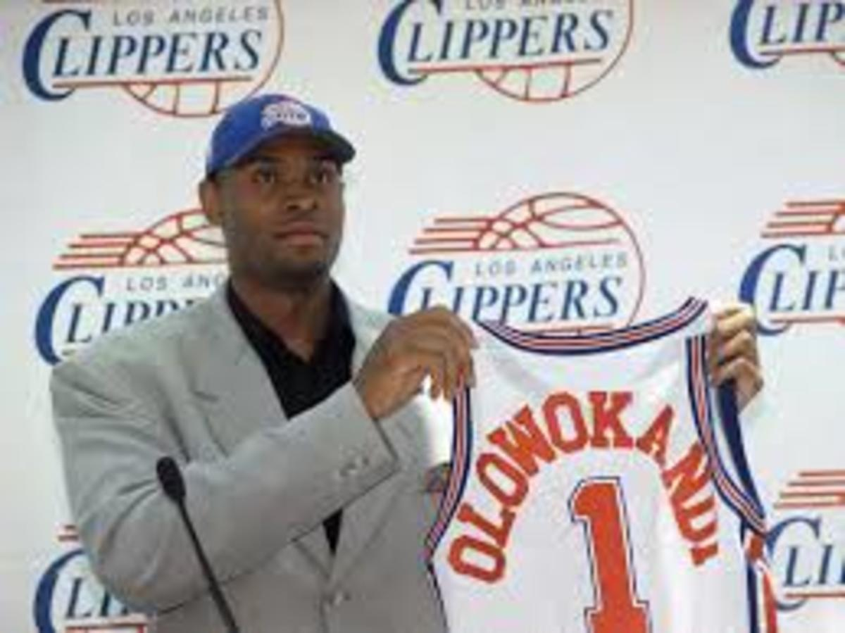 Michael Olowokandi  was taken number one overall in the 1998 draft.