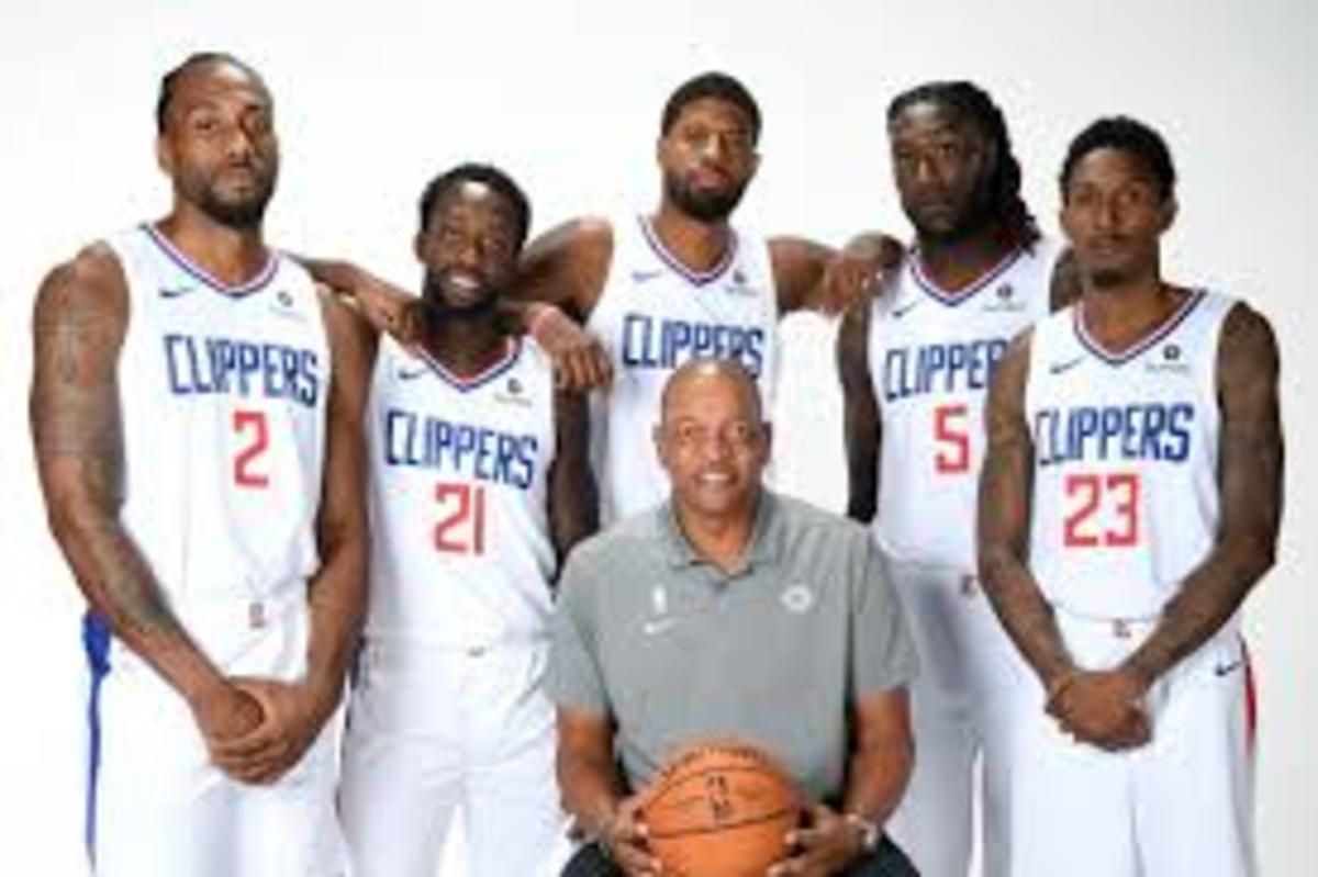 This team will give a lot of teams trouble especially led by one of the best coaches in the league Doc Rivers.