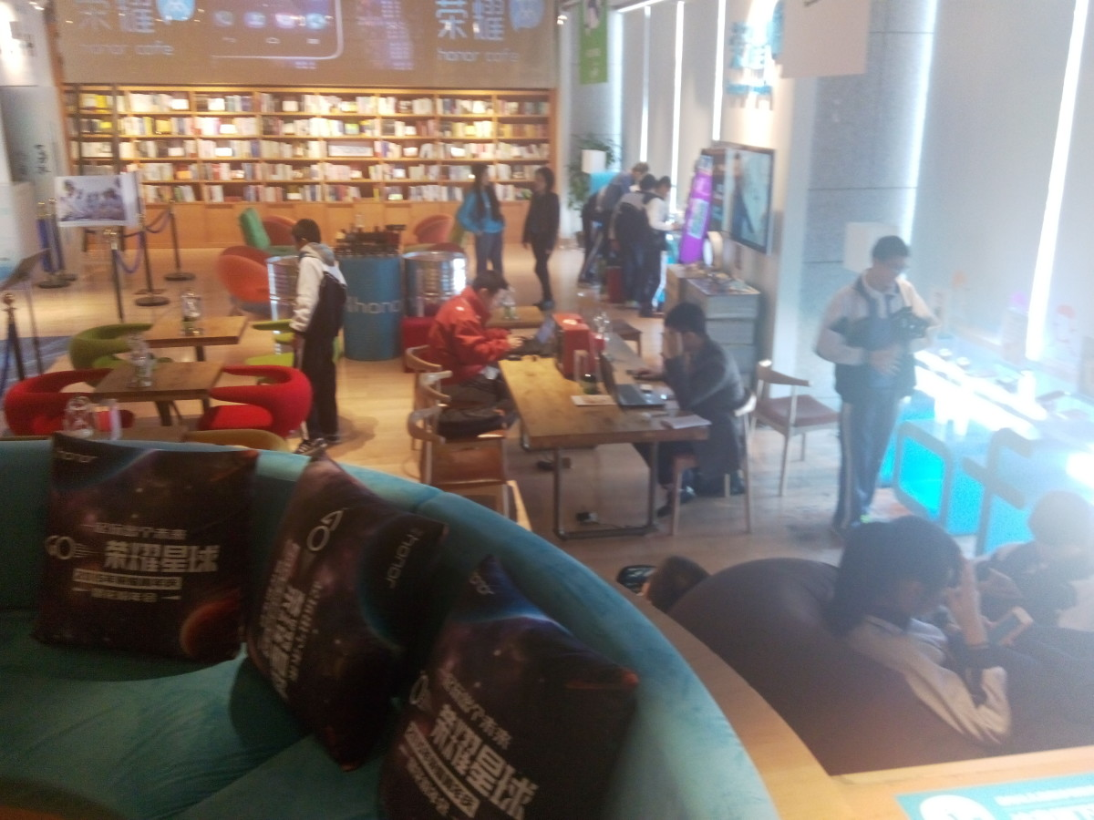 24 Hour Book Bar Chill-out Space
