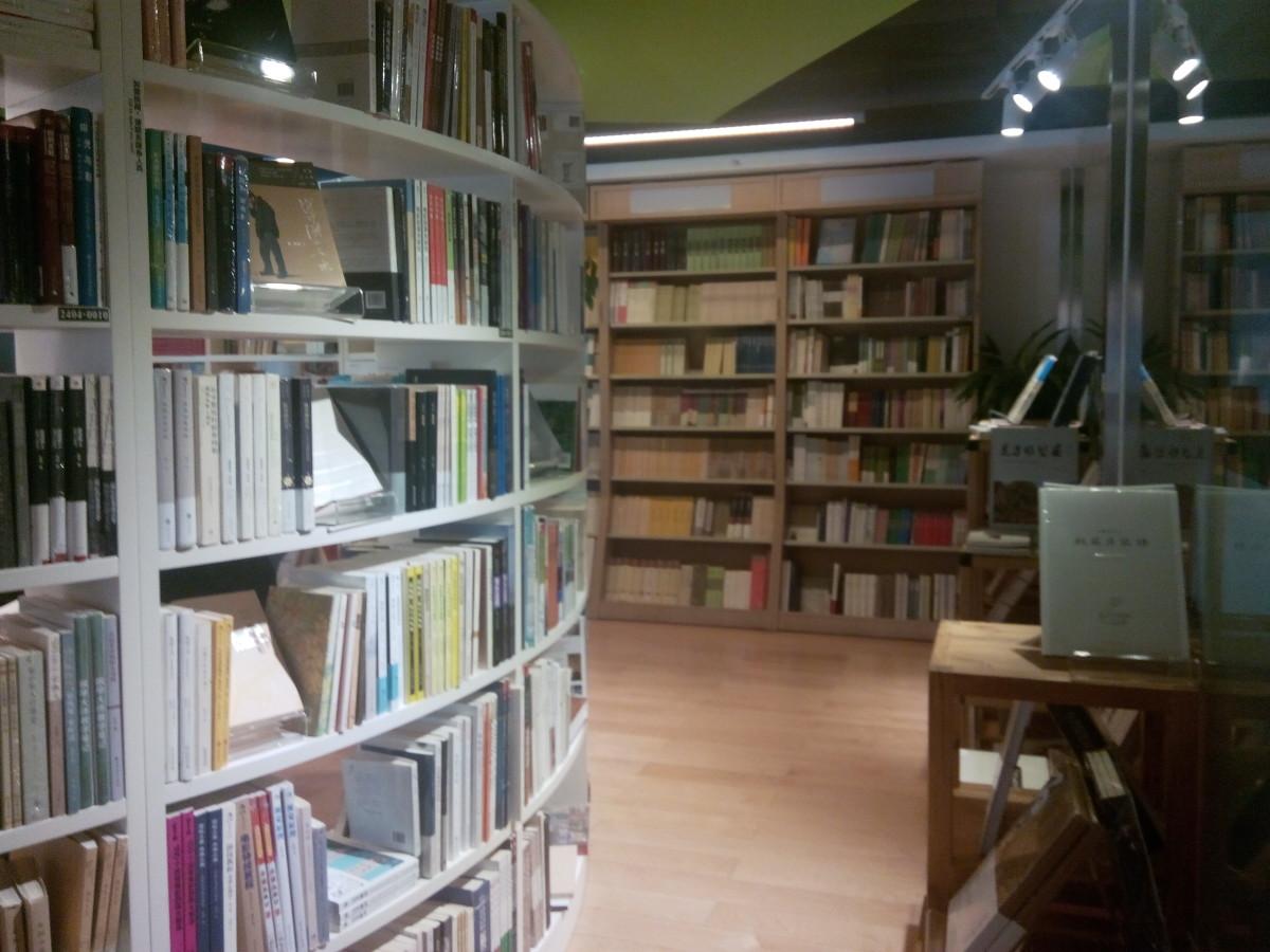 Interior 24 Hour Book Bar