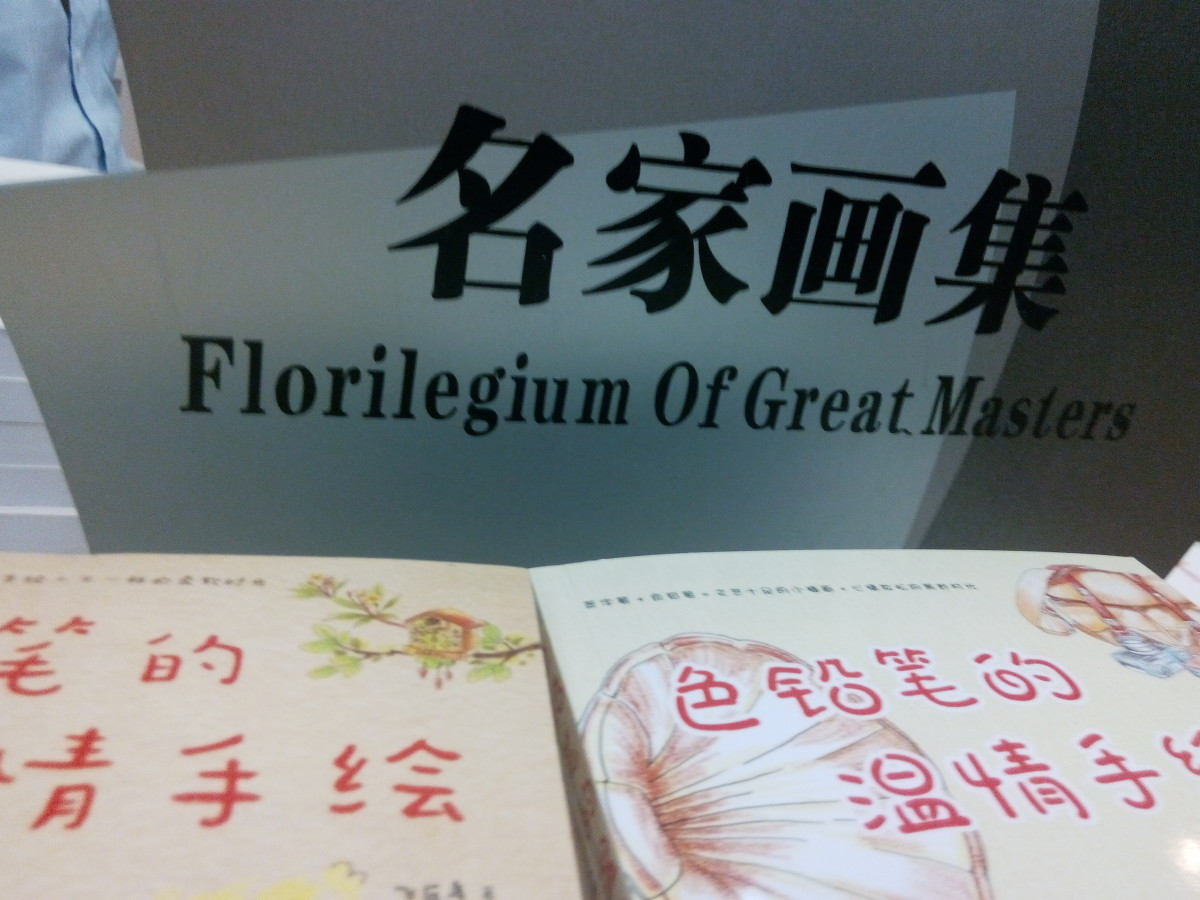 Sign in a Shenhen bookshop. Anyone know what it means?