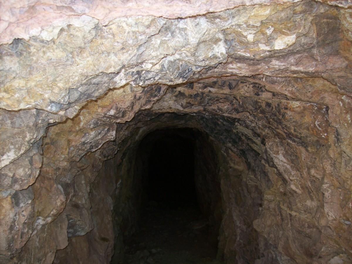 Abandoned gold mine
