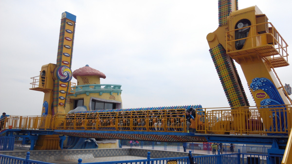 A thrilling ride at Fanta Wild Adventure