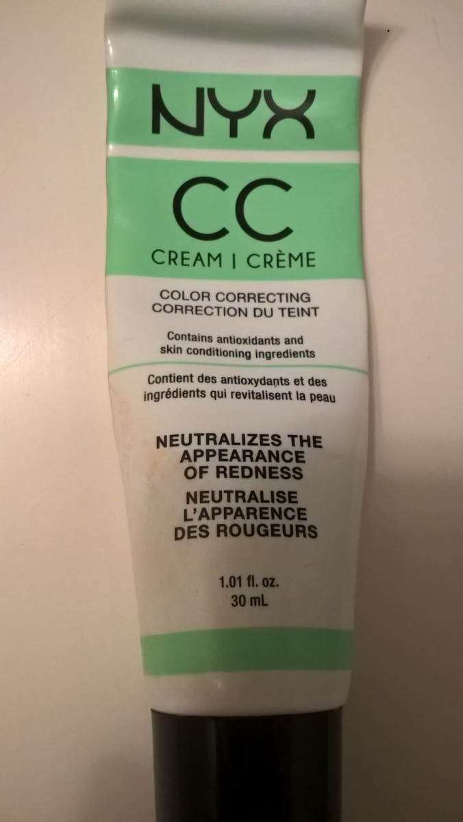 My Review of NYX CC Light Green Cream