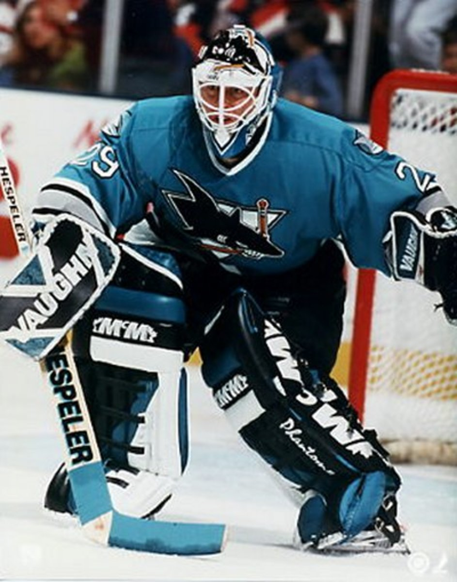 Vernon with the Sharks