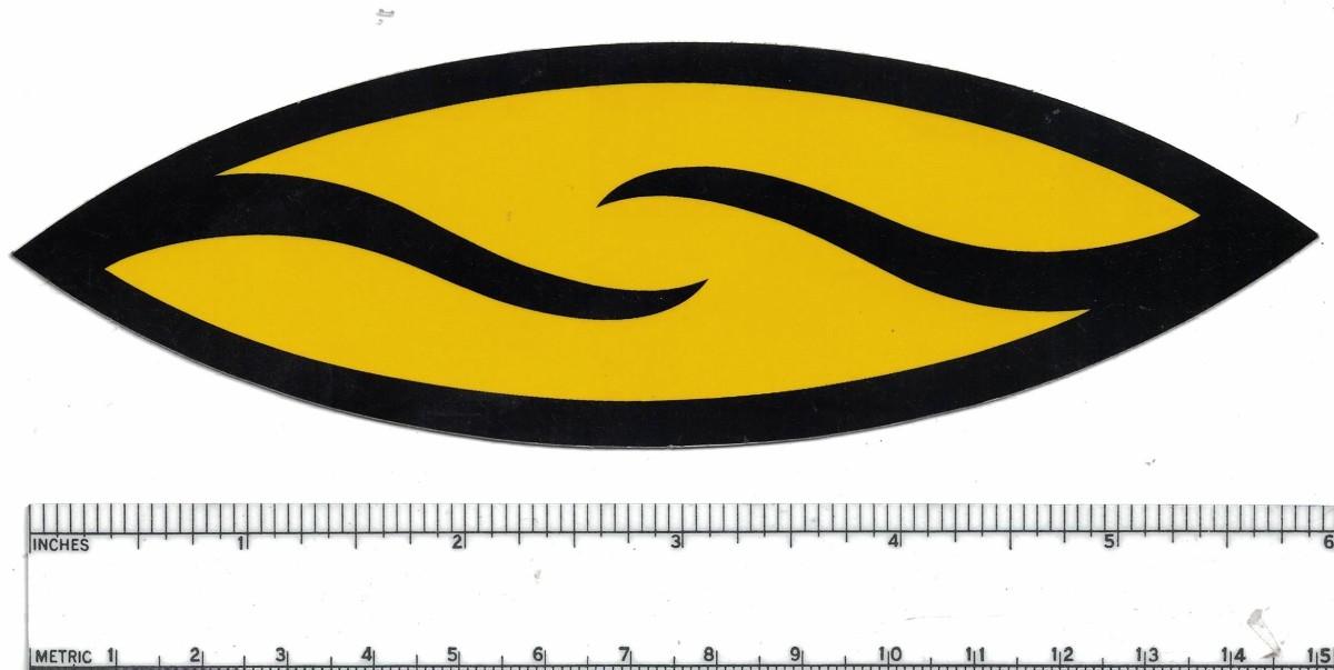 Smith Optics Yellow Sticker Decal