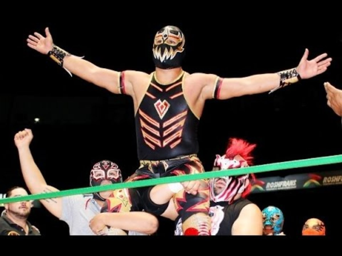 Mascara Dorada says farewell to Arena Mexico