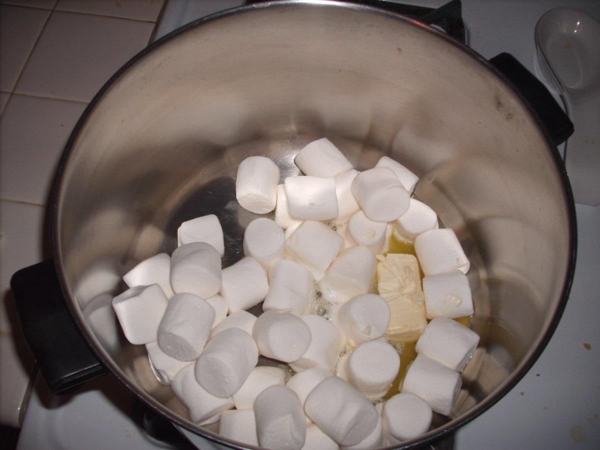 Stir until melted