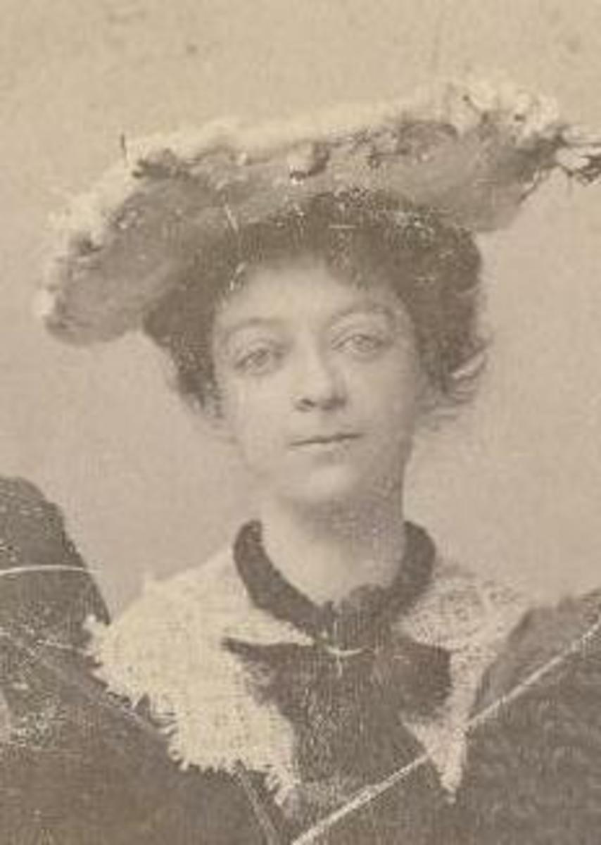 My husband's great great grandmother Eleonora Schmidt
