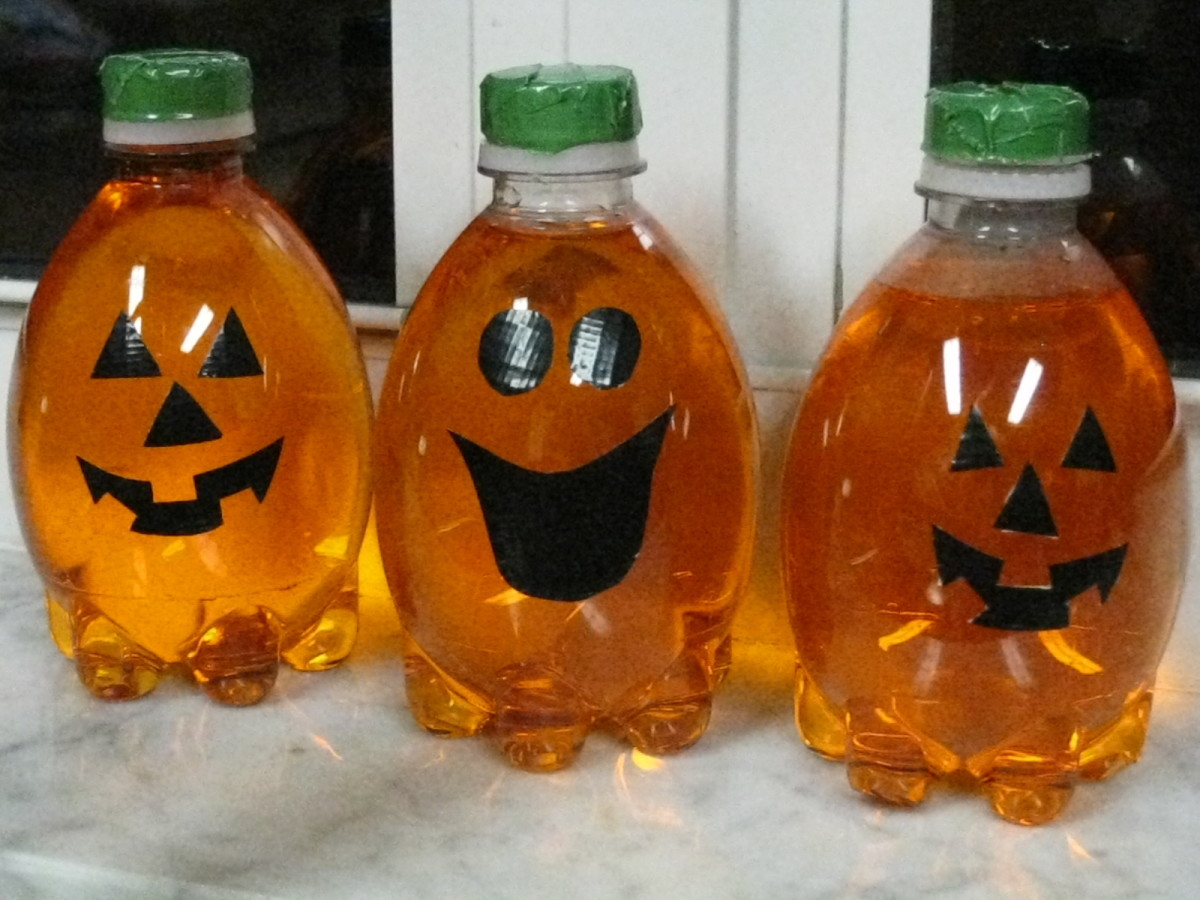 DIY Homemade Pumpkin Halloween Decorations
