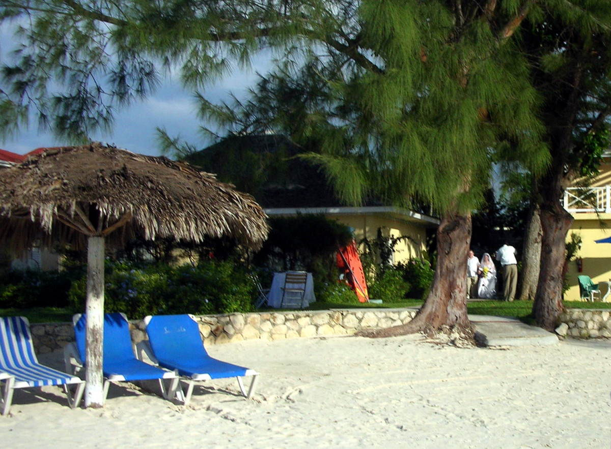 Lounging on the Beach - my photo