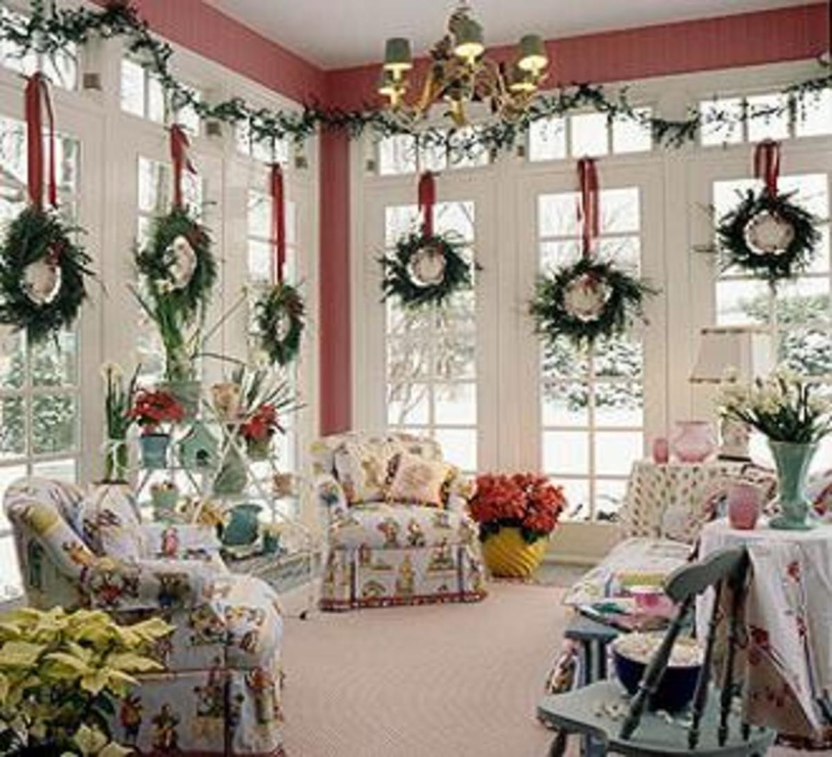 attractive Christmas home decorations