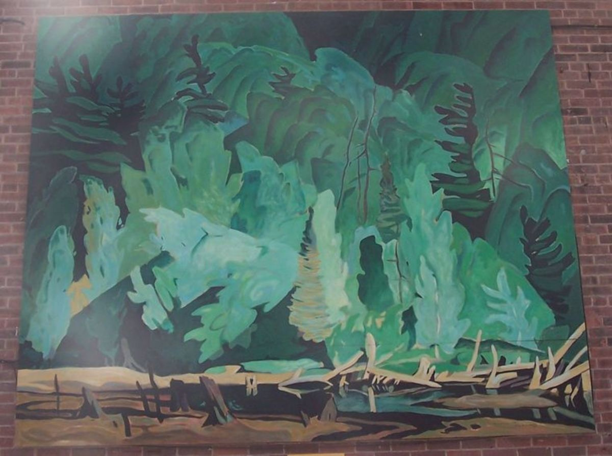 Summer Hillside -- A.J. Casson 1945