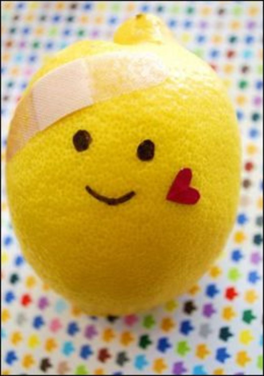 Science Experiments with Lemons on Hubpages
