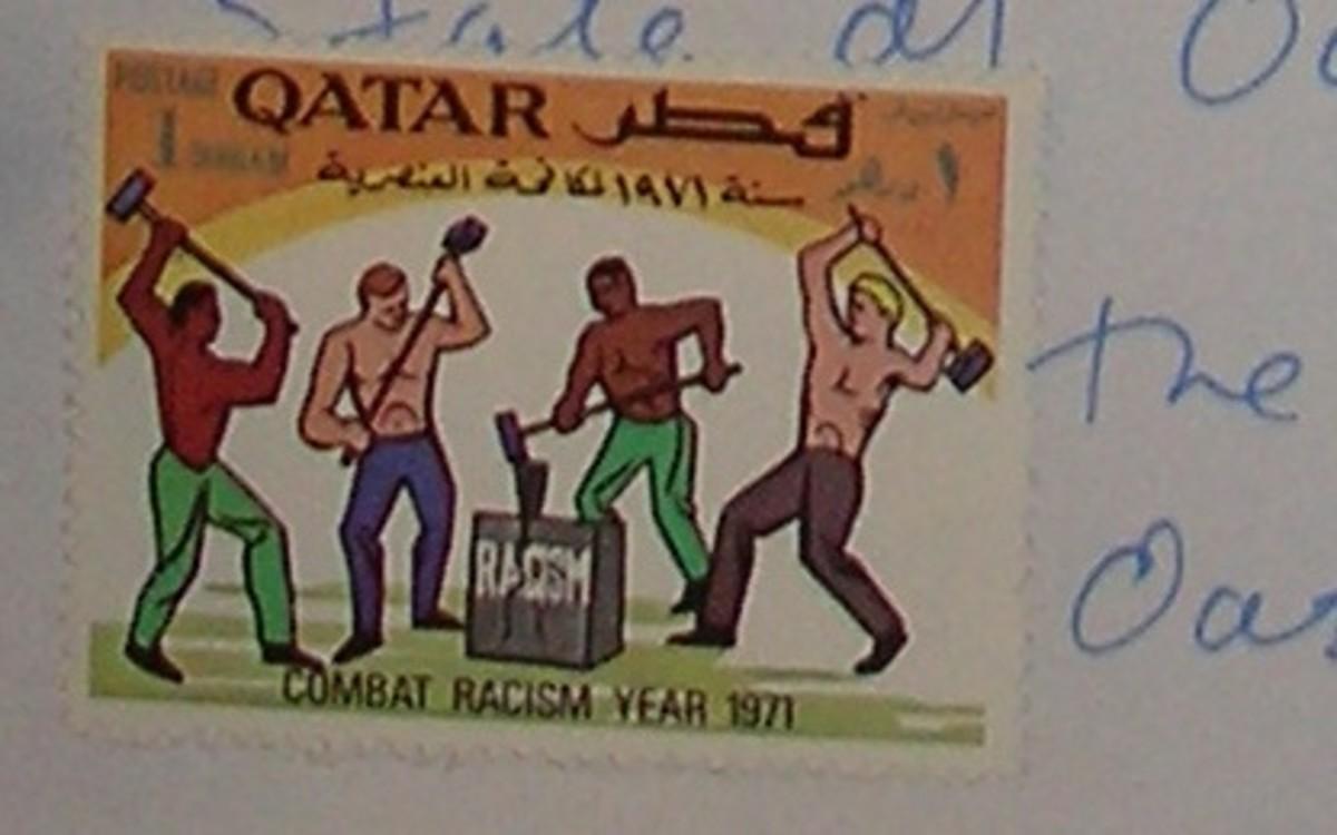 1971 Combating Racism Stamp