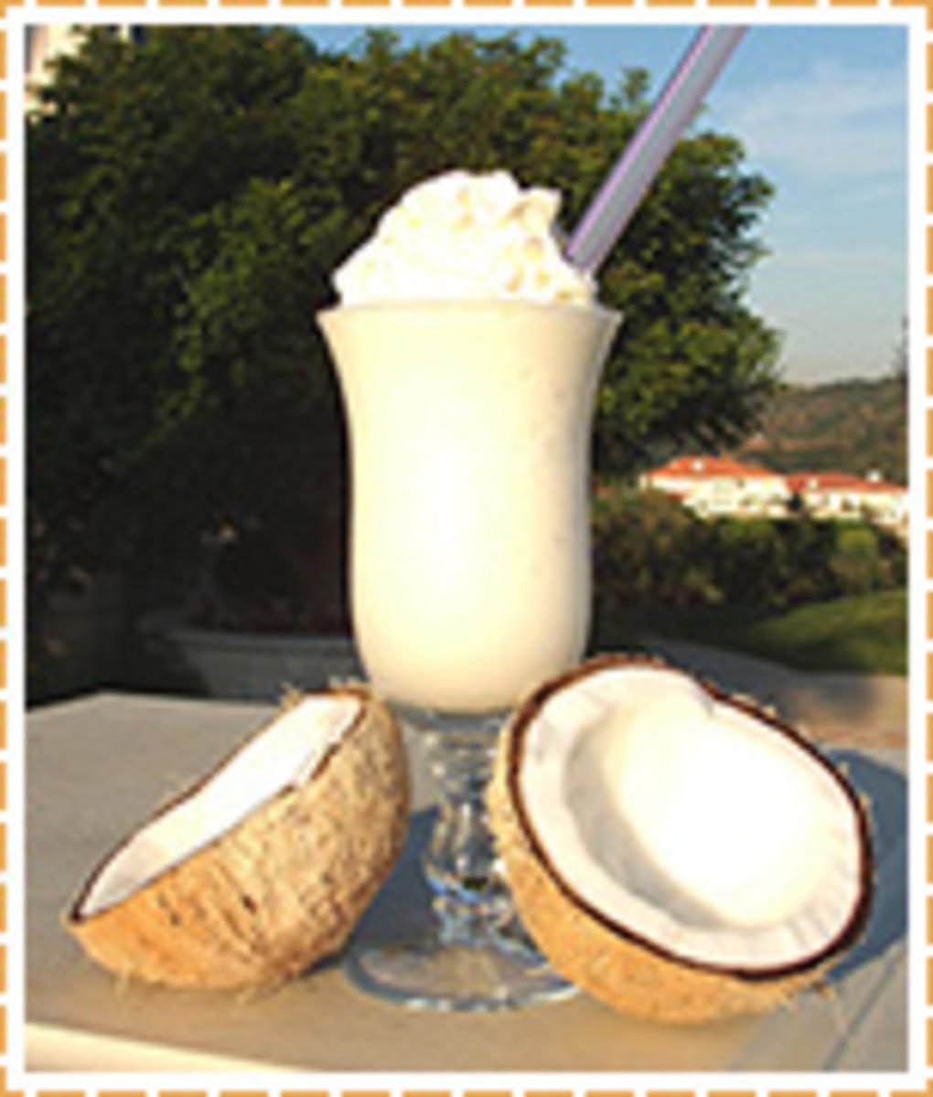 Coconut Milkshake Recipe
