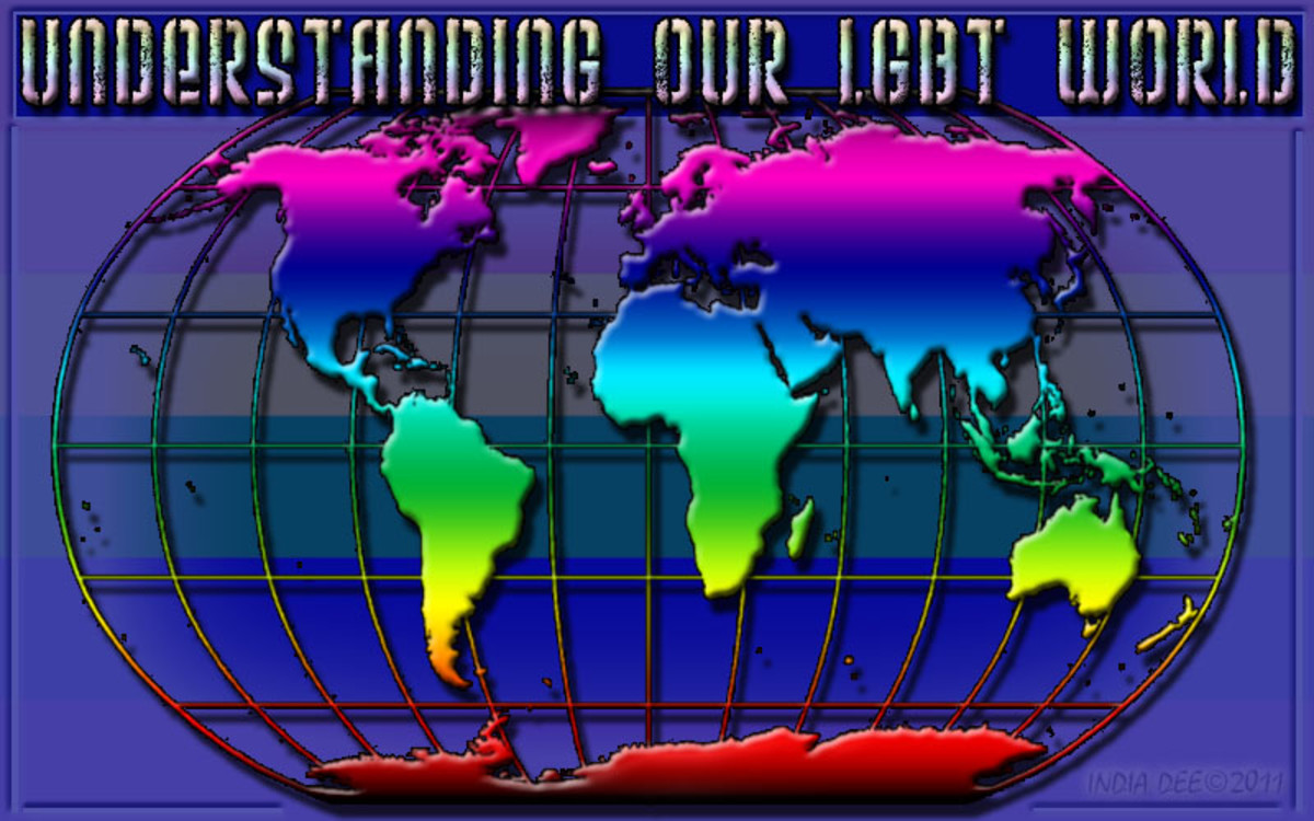 "Understanding our ""LGBTQ world"" Graphic"