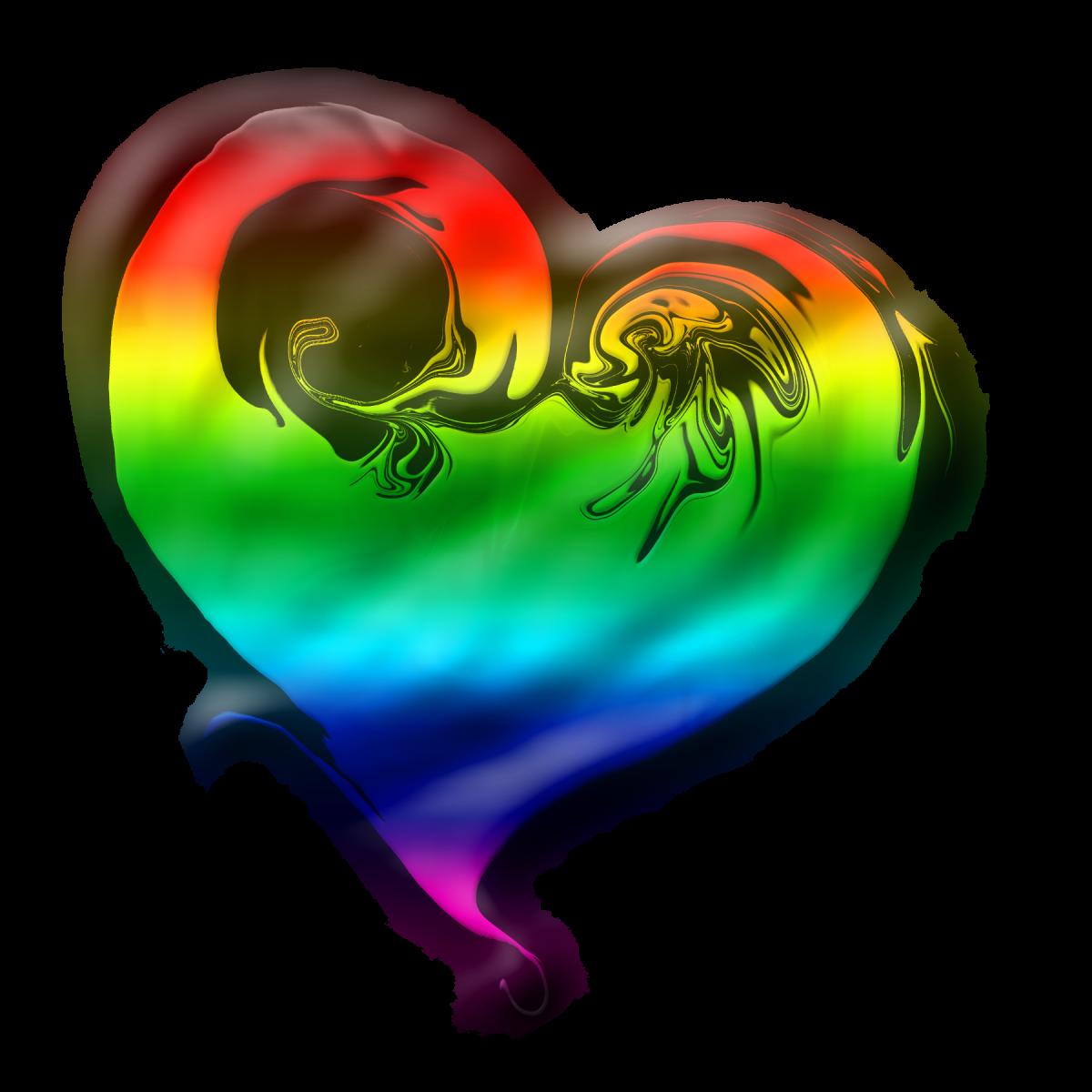 Rainbow Heart Full Of Fun!