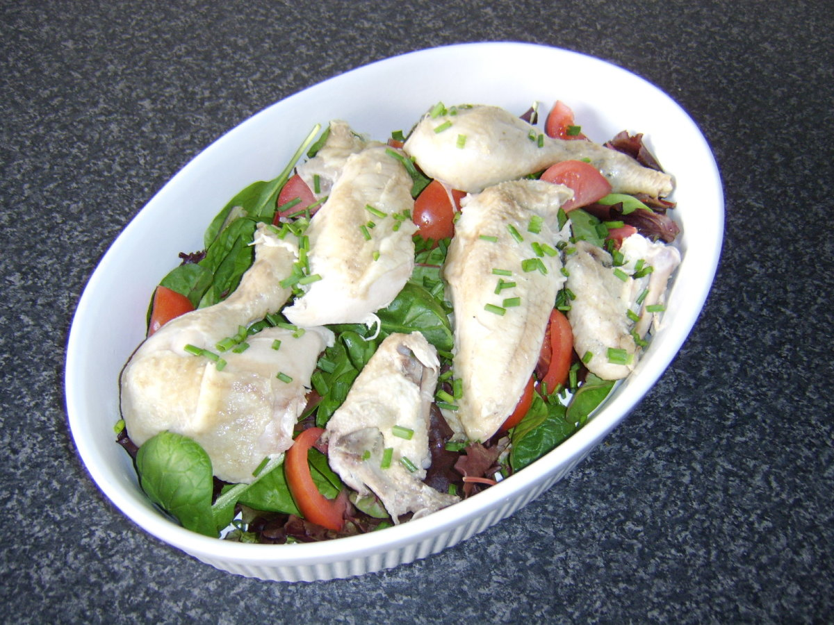 How to Poach a Whole Chicken and Prepare an Easy Chicken Salad