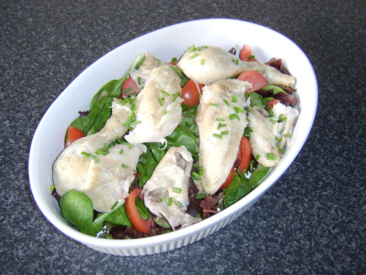 Easy and Tasty Summer Chicken Salad