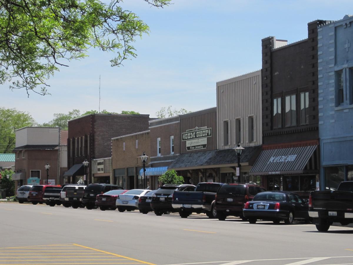 Rockton's Main Street