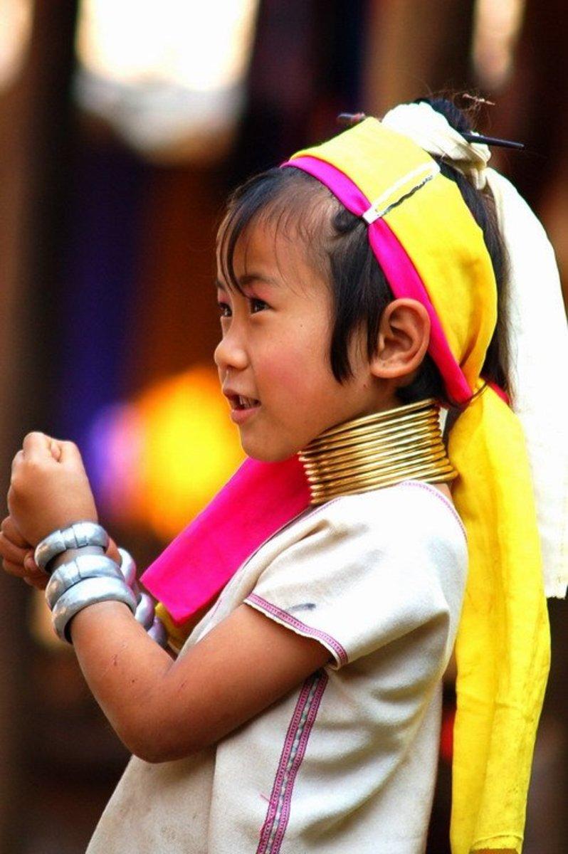 Thailand's Human Zoos, Karen Padaung Long Neck Hill Tribe People