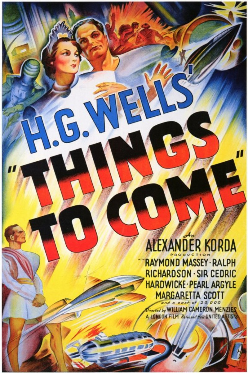 Things to Come (1936) - Wings Over the World