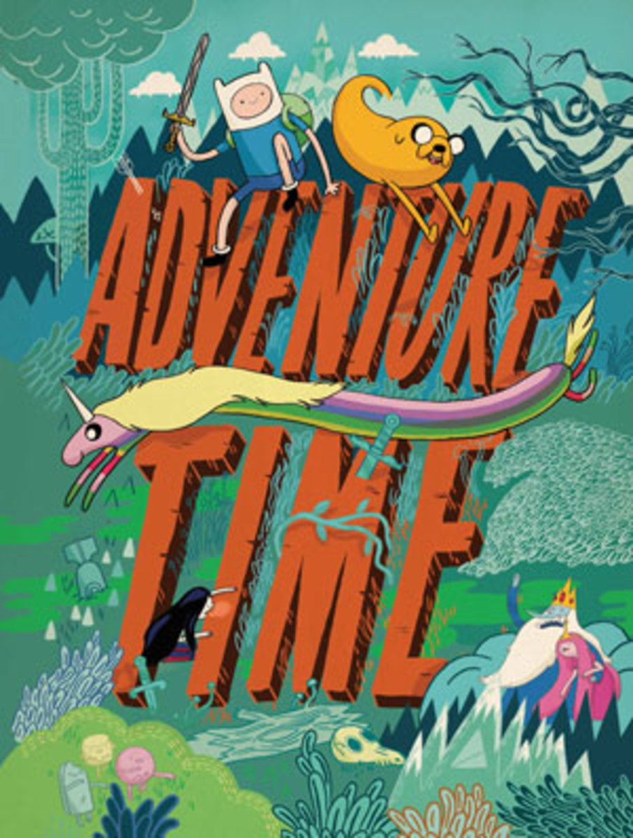 I often watch a lot of Adventure Time while writing for HP.