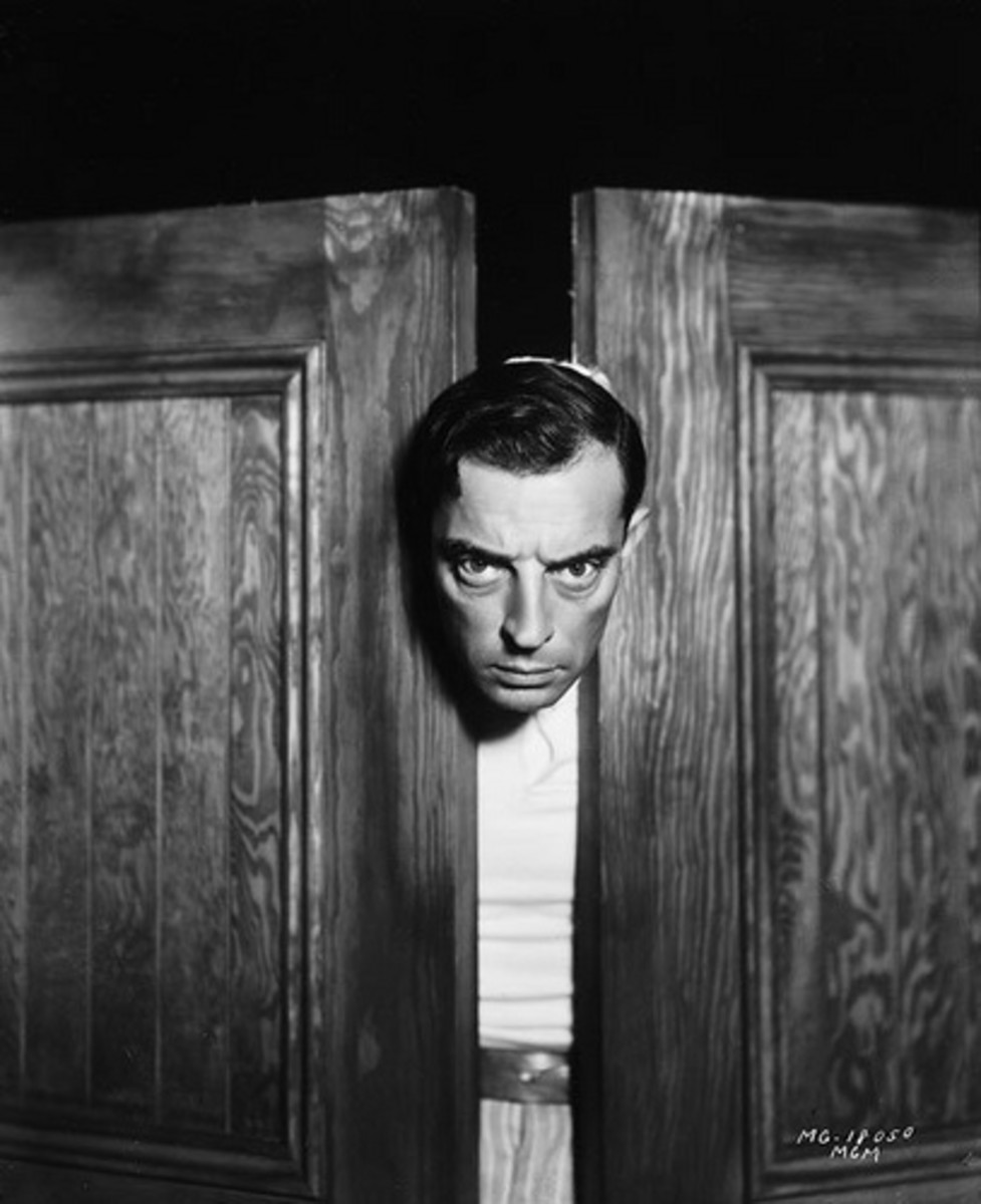 Buster Keaton Photographed by Hurrell