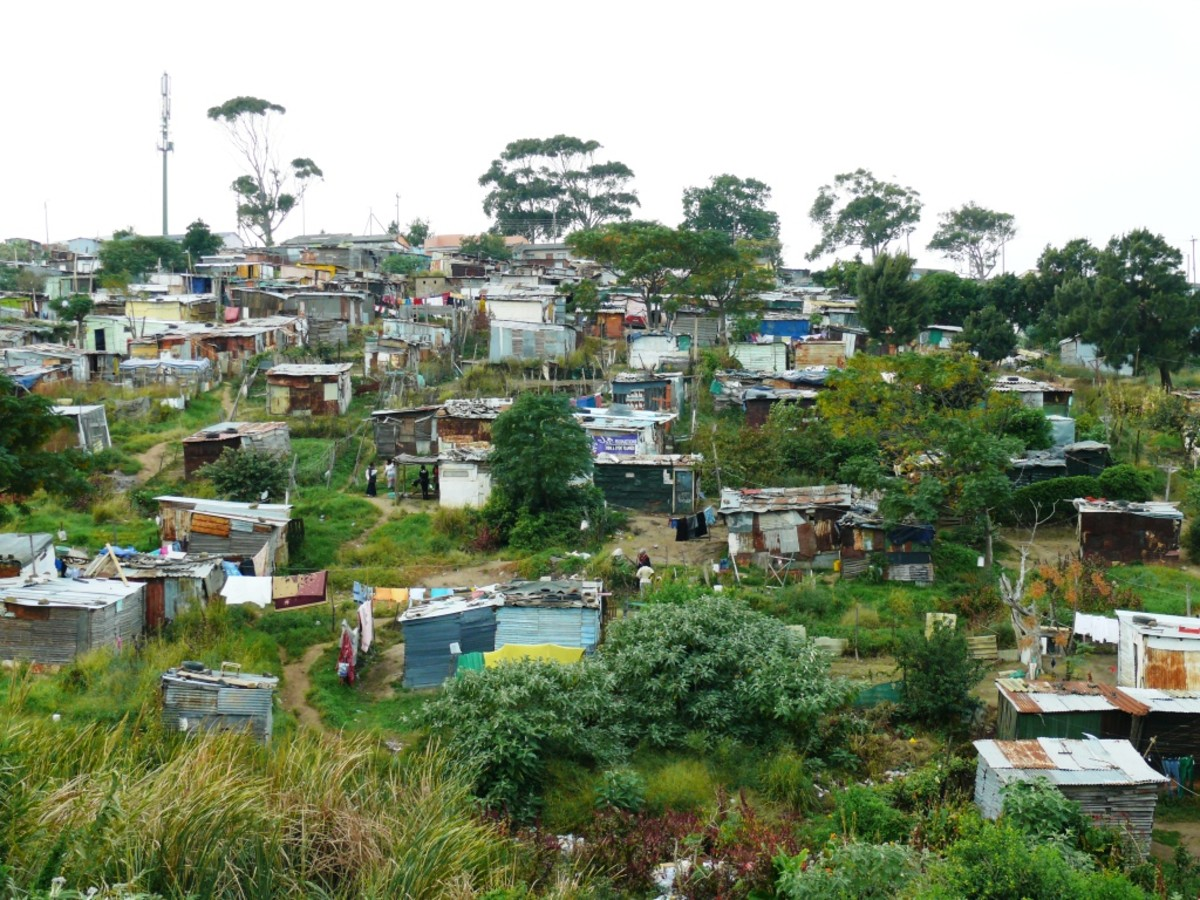 Informal Settlement in Gompo, East London