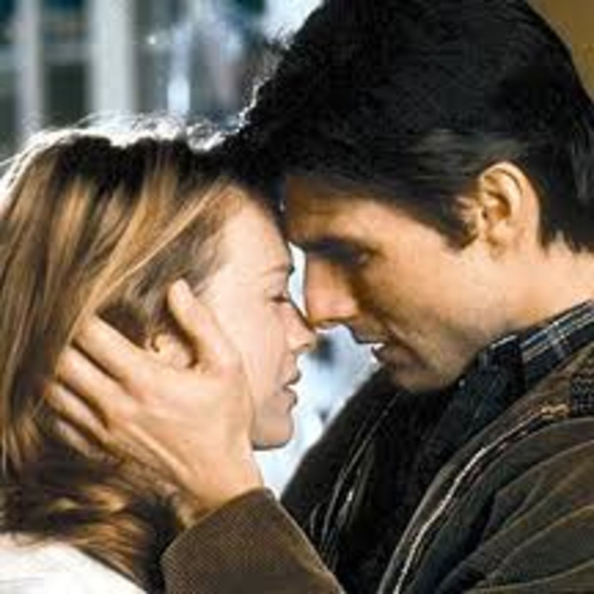 Tom Cruise with Renée Zellweger in Jerry Maguire