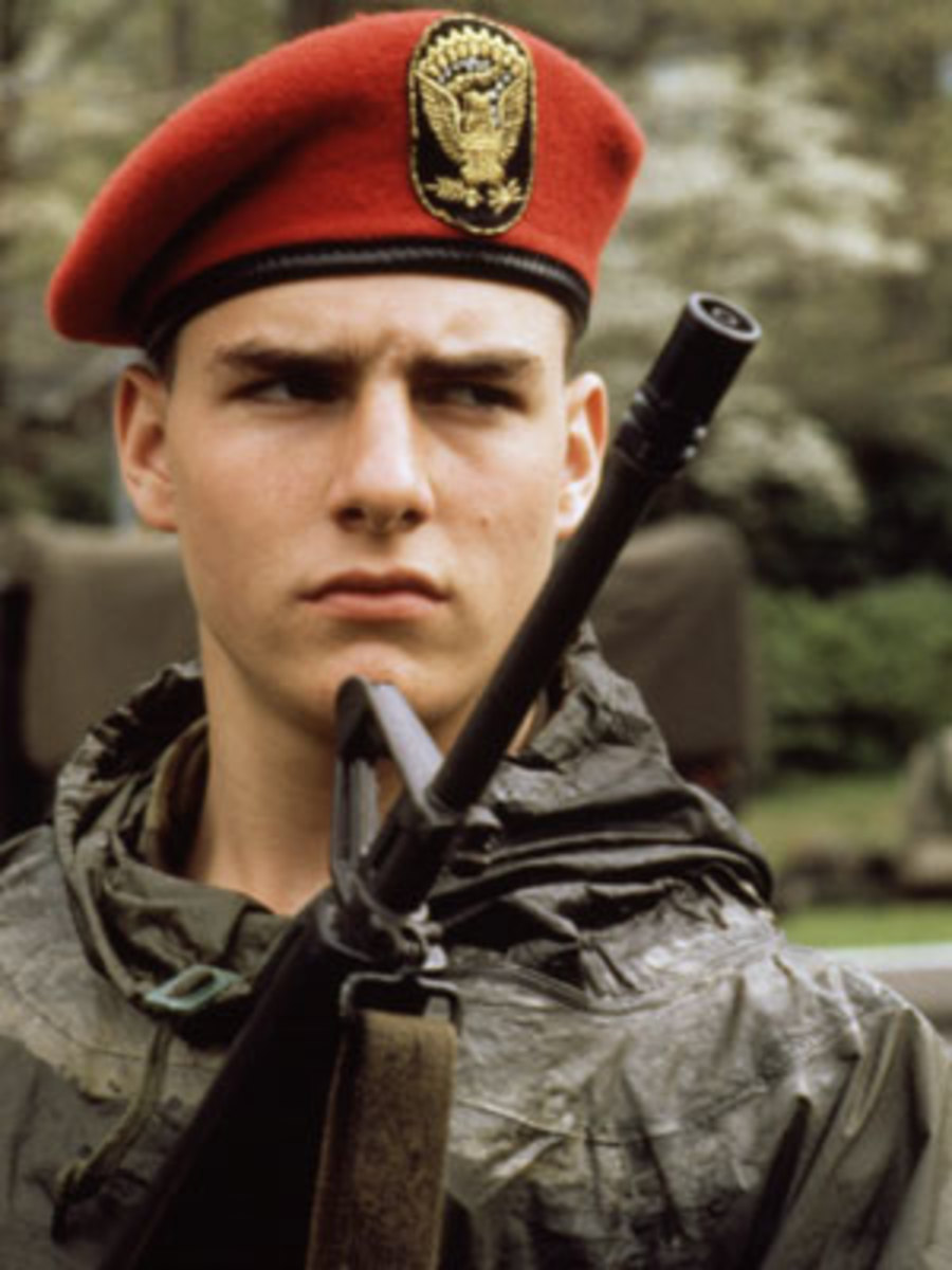 Tom Cruise in Taps