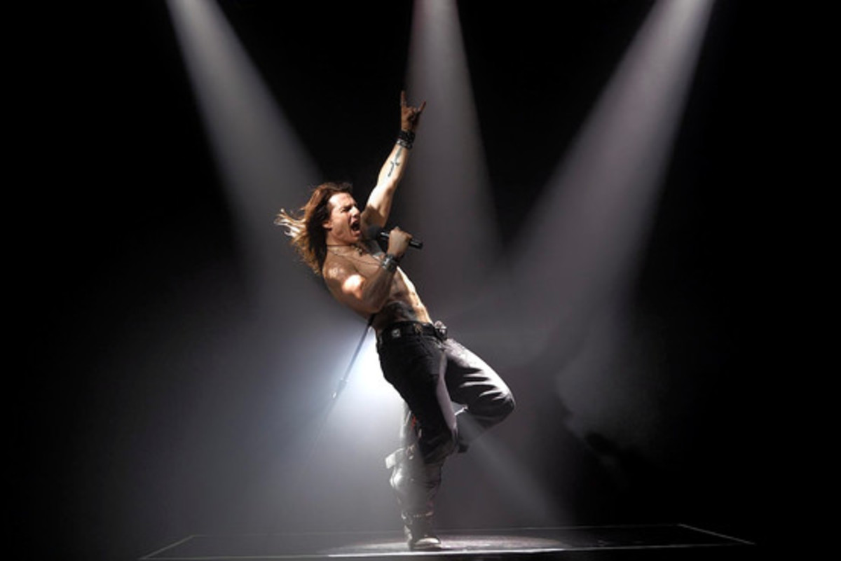 Tom Cruise in Rock of Ages slated to come out this summer 2012