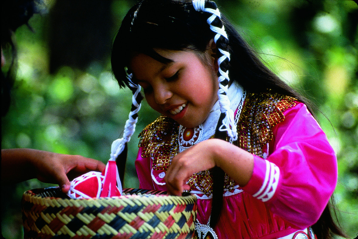 A young girl from Mississippi continues the traditions held by her ancestors. These traditions differ greatly from tribes in different geographical regions.
