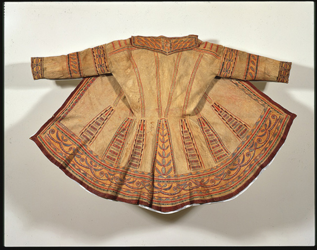Man's Summer Hunting Coat ca. 1785-1800