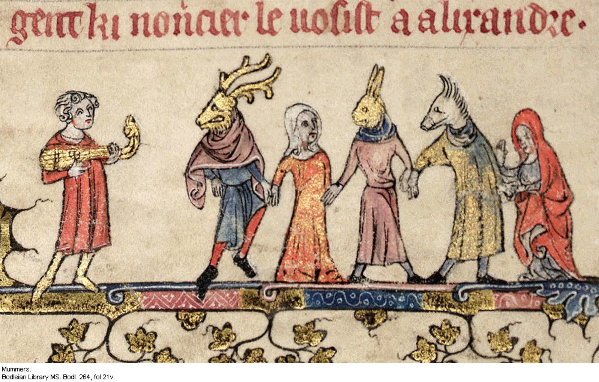 Medieval Mummers