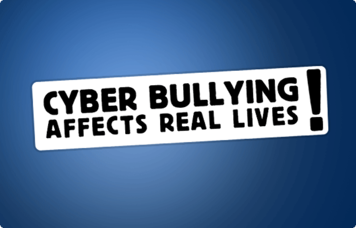 When you see someone being bullied, don't join in, go tell someone
