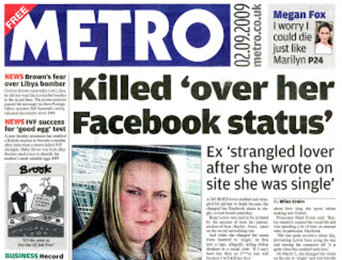 Killed over Facebook Status