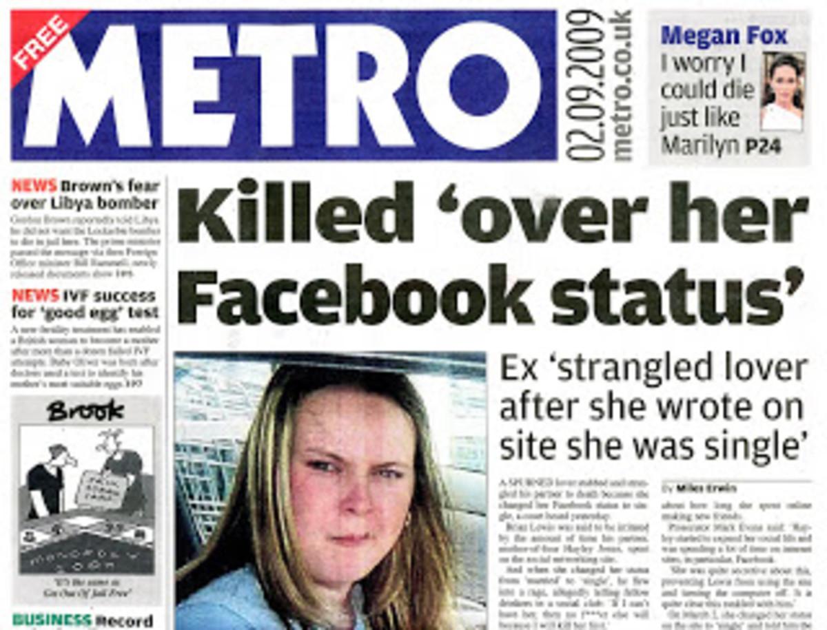 Killed over Facebook Status
