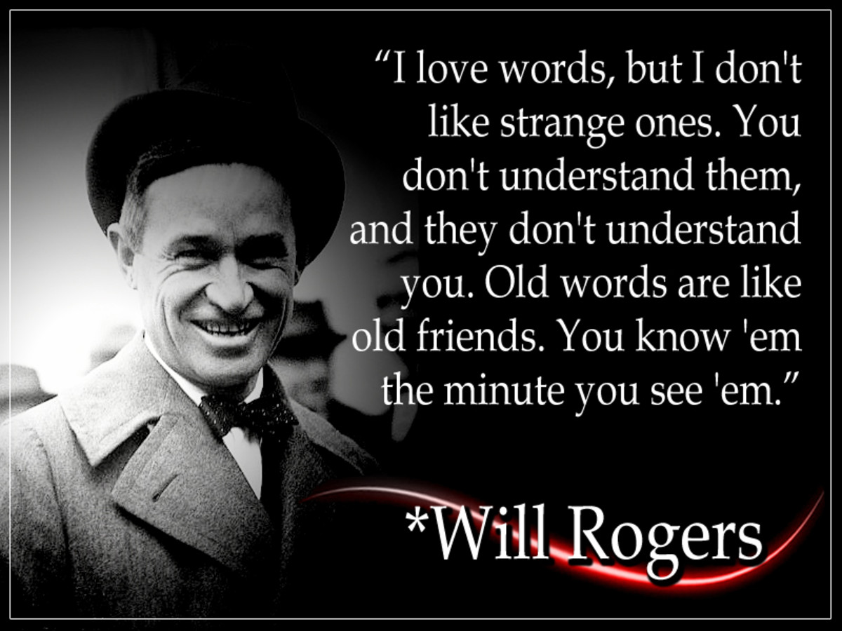 Will Rogers (Nov. 1879 - Aug. 1935) was one of the world's most popular celebrities in the 1920s and 1930s. He circumnavigated the world three times, performed in 71 movies, and composed over 4,000 nationally-syndicated newspaper columns.