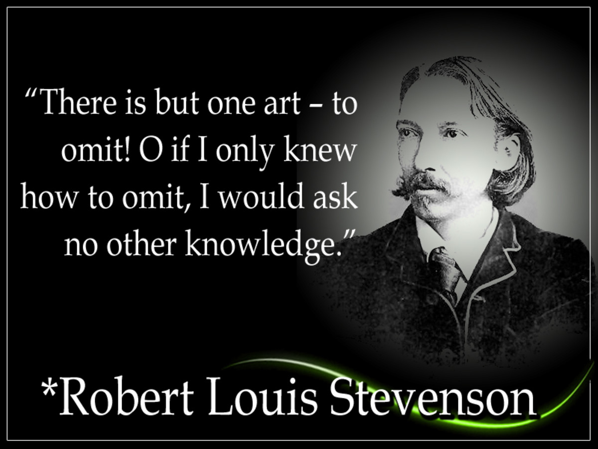 "Robert Louis Stevenson (Nov. 1850 - Dec. 1894) was a Scottish fictionist, author, and travel writer. His most acclaimed works include ""Treasure Island"" and the ""Strange Case of Dr Jekyll and Mr Hyde."" He is one of the most translated authors."
