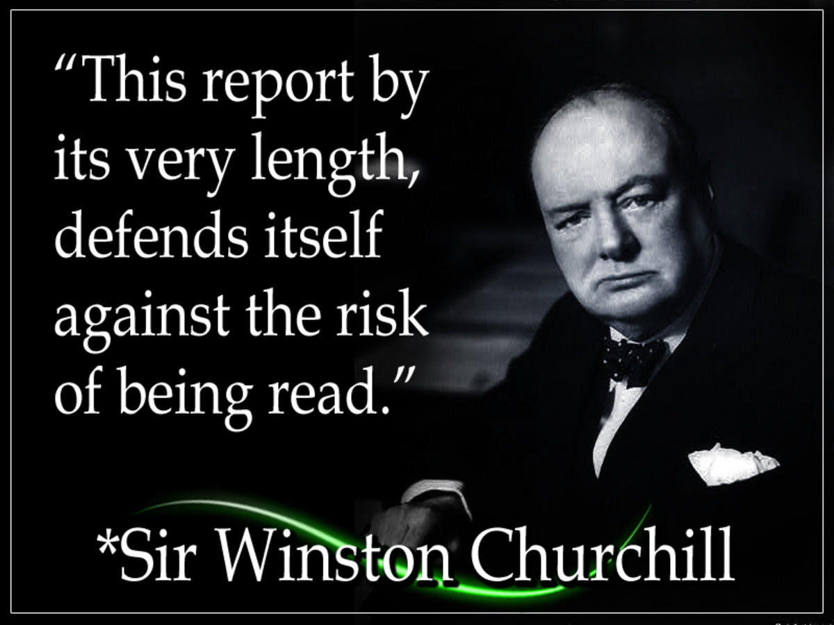 Sir Winston Churchill (November 1874-- January 1965) was a British Right-wing political leader and senator recognized for his leadership of the United Kingdom during WWII. He is the only British chancellor to be awarded the Nobel Prize in Literature.