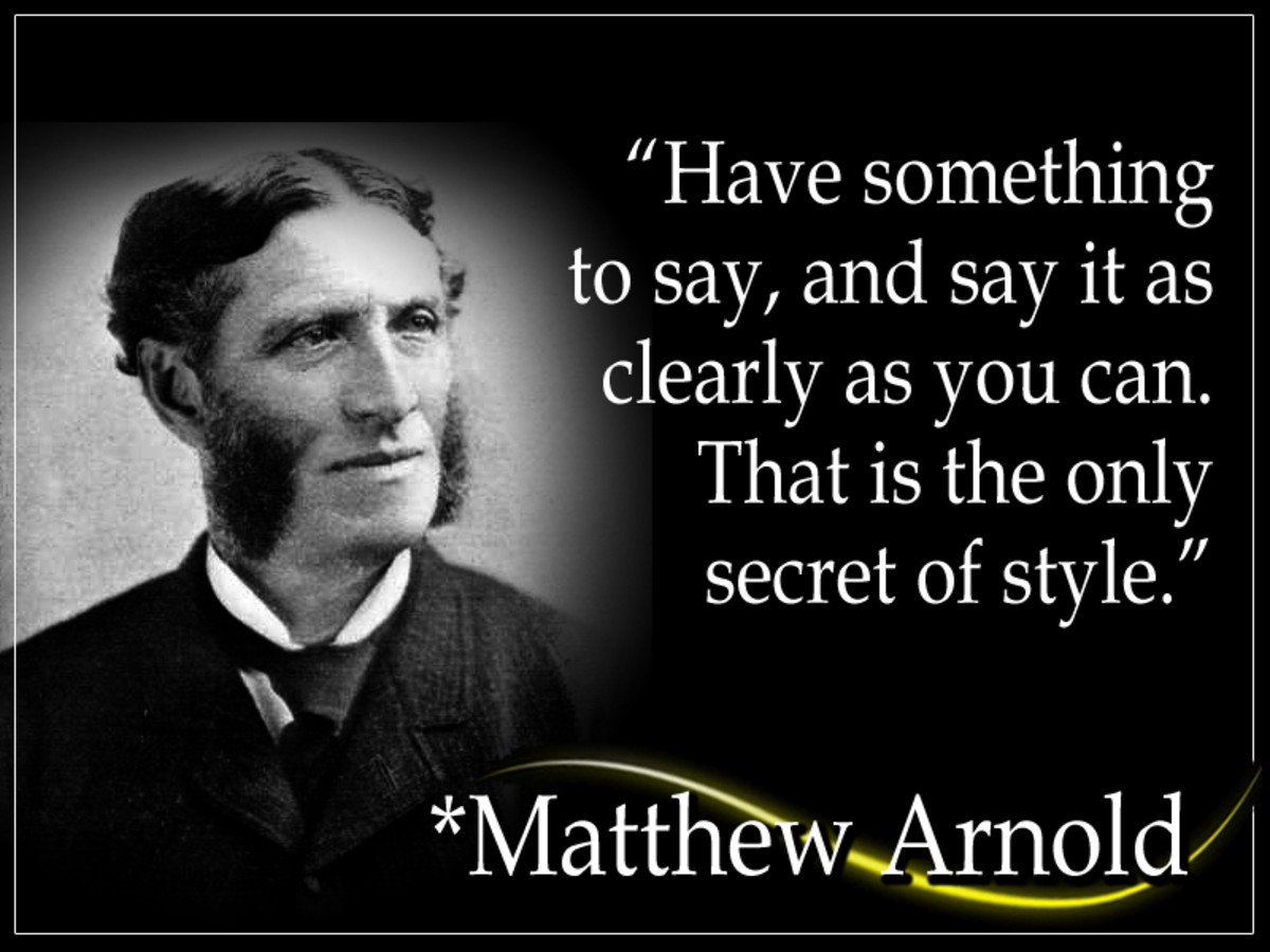 "Matthew Arnold (1822 - 1888) was a British poet and social critic. He is sometimes referred to as the ""third great Victorian poet."" He coined the phrase ""New Journalism,"" which now defines the complete category of newspaper history."