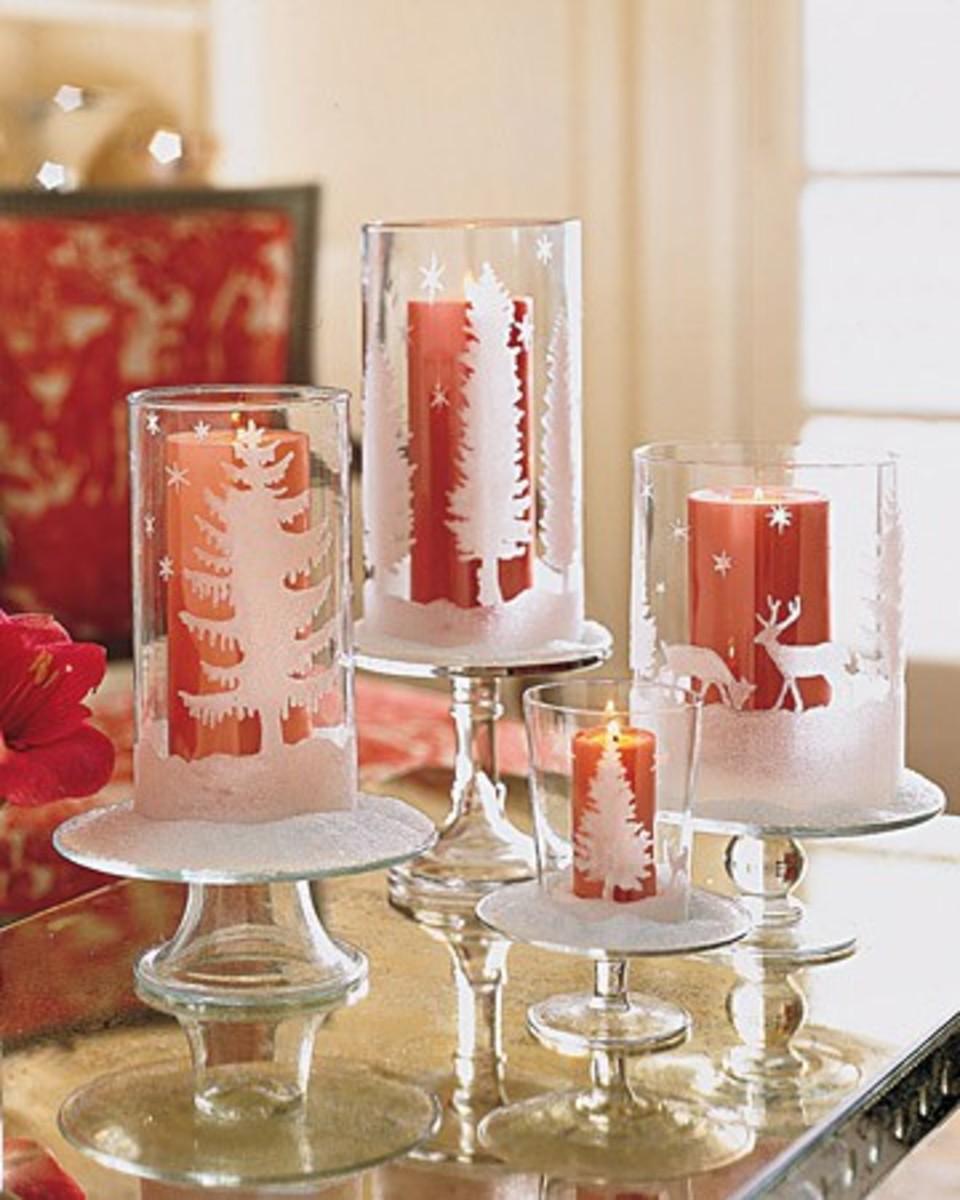 Glittered Candleholder DIY