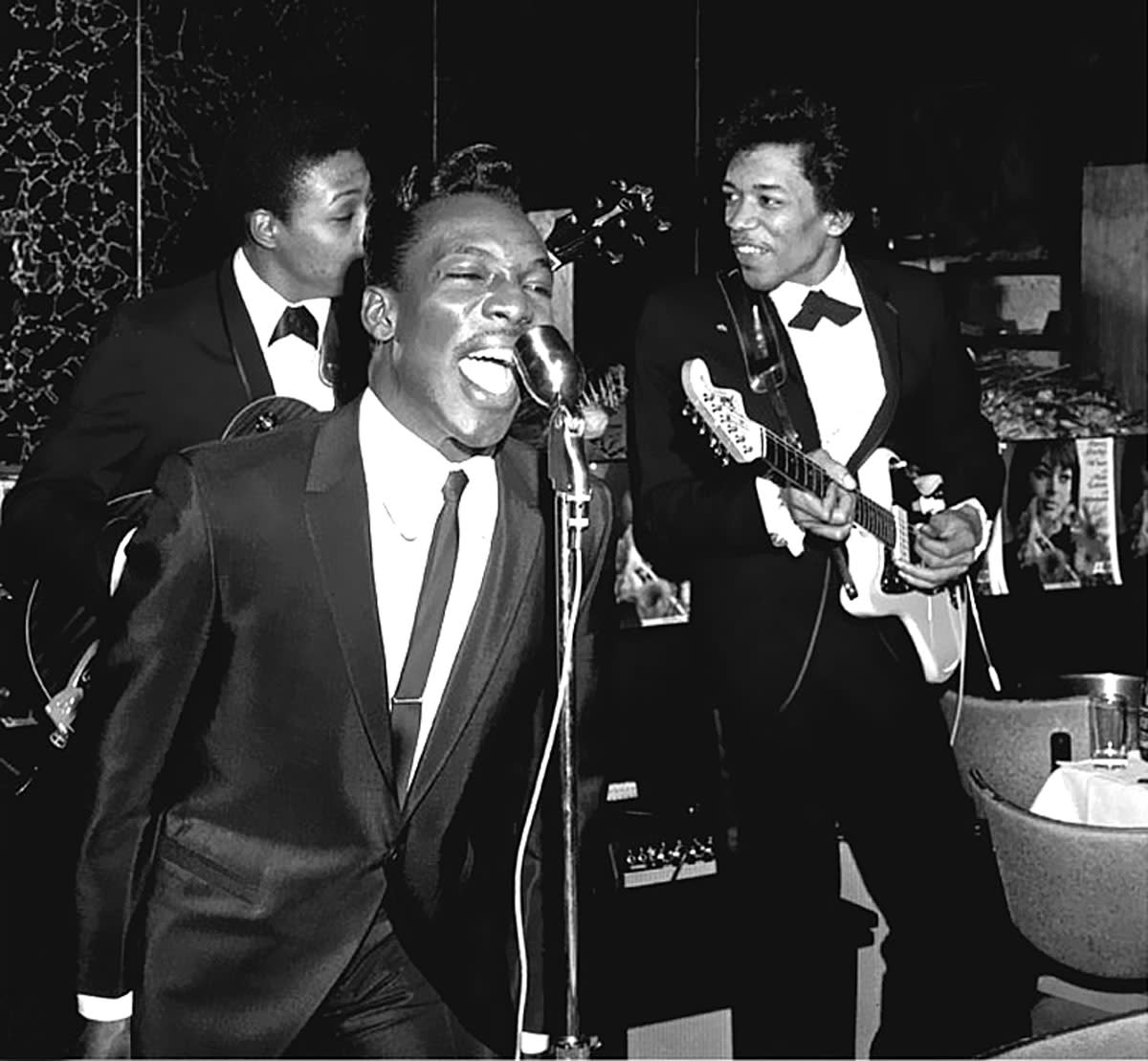 Wilson Pickett and Jimi Hendrix