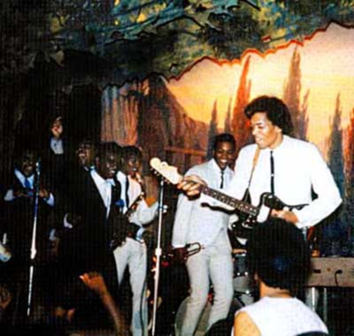 The Isley Brothers with Jimi Hendrix