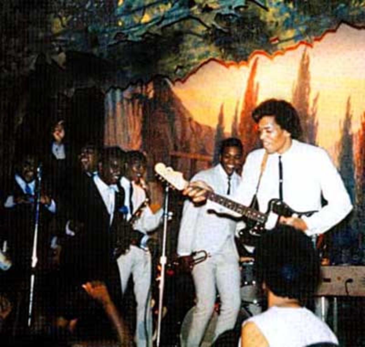 The Isley Brothers with Jimi Hendrix